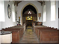 TF9624 : St Helen's church - view east by Evelyn Simak