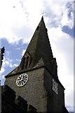 SK2572 : St Anne's Church, Baslow by David Marsden