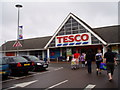 SK0933 : Tesco supermarket, Uttoxeter by Eirian Evans