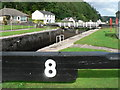 NR8390 : Cairnbaan: Lock 8 by Chris Downer