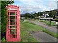 NR8390 : Cairnbaan: telephone box by Chris Downer