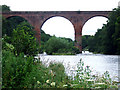 NY4654 : Wetheral Aqueduct over River Eden by Emily Frankish
