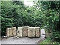 TG3109 : Road blocks by Evelyn Simak