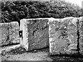 TG3109 : Concrete cubes by Evelyn Simak