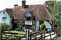 TQ7140 : Old timbered house at Capel Cross, Horsmonden by D Gore