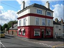 TQ7668 : Napier Arms Pub, Gillingham by Danny P Robinson
