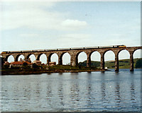NT9953 : HST crossing the Royal Border Bridge by Keith Edkins