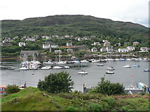 NR8668 : Tarbert: view across the harbour by Chris Downer