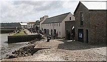 SW5130 : The harbour front, St. Michael's Mount by Bob Embleton