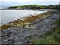G7573 : Beach and Pier at Ballyderlan by louise price