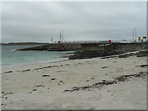 NM2824 : Isle of Iona: beach by slipway by Chris Downer