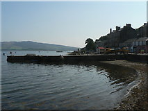 NS0767 : Port Bannatyne: the pier by Chris Downer
