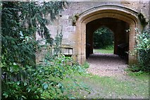 ST6601 : Cerne Abbey, Cerne Abbas by Nigel Mykura