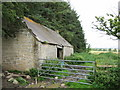 NU0107 : Old Barn, at the wood end, south east of  Follions by Norman MacKillop