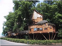 NU1913 : The Treehouse in Alnwick Garden by Sarah Charlesworth