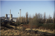 SO9988 : Rhodia chemical works, Langley Green by Chris Allen