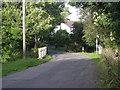 SW7517 : Lane through Ponsongath by Row17
