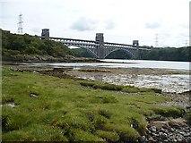 SH5371 : Britannia Bridge by Robin Drayton