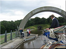 NS8579 : From Falkirk Wheel Aqueduct  to Roughcastle Tunnel portal by Renata Edge