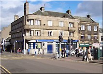 NS4263 : Junction of Church St, High St, Johnstone by Vince Madden