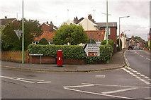 TM2863 : Junction of B1116 and B1119 in Framlingham by Ian Capper