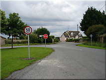 O1148 : Road Junction at Castlefarm by Ian Paterson