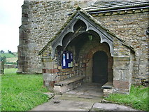 SD9350 : The Parish Church of All Saints, Broughton with Elslack, Porch by Alexander P Kapp