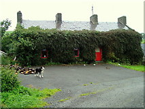 G9171 : Hairy House at Ballybulgan by louise price