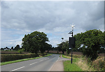 SO7729 : A417 towards Hethelpit Cross by Pauline E