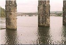 NT9953 : Three Bridges across the Tweed by Sarah Charlesworth