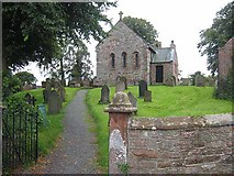 NY3459 : St Mary's Church, Beaumont by Oliver Dixon
