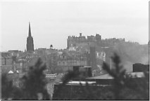 NT2674 : A Wintry View across Edinburgh from Calton Hill by Sarah Charlesworth