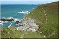 SX0382 : St Teath: near Jacket's Point by Martin Bodman