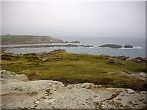 SV9210 : Newfoundland Point, Porth Hellick, St. Mary's by Bob Embleton