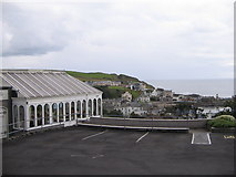 NW9954 : Portpatrick Harbour view from Fernhill Hotel by derek menzies