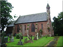 NY4756 : Our Lady and St Wilfred Church, Warwick Bridge by Alexander P Kapp