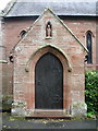 NY4756 : Our Lady and St Wilfred Church, Warwick Bridge, Porch by Alexander P Kapp