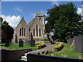 SK6439 : Church of St Mary, and War Memorial, Radcliffe on Trent by Tim Heaton