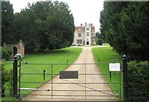 SU7037 : Drive up to Chawton Manor Library by Basher Eyre