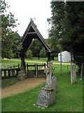 SU7037 : Lych gate at St Nicholas, Chawton by Basher Eyre