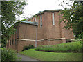 TQ3061 : St Swithun's church, Purley by Stephen Craven