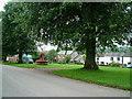 NY6825 : Village Green Dufton by David Brown