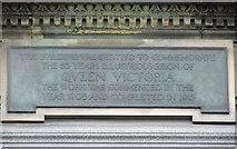NS6065 : Queen Victoria plaque by Thomas Nugent
