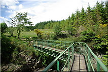 NX5987 : Bridge over the Polmaddy Burn by Leslie Barrie