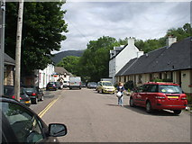 NN0858 : The main street in Ballachulish village by Michael Murray