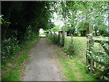 TR3256 : Footpath from the A258 to Dover Road by Nick Smith