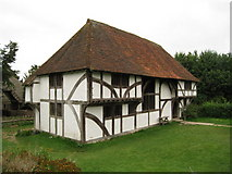SU8712 : 'Bayleaf' Wealden Hall House at Weald & Downland Museum, Singleton, West Sussex by Oast House Archive