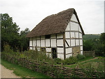 SU8712 : Poplar Cottage at Weald & Downland Museum, Singleton, West Sussex by Oast House Archive