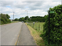 TR3256 : Looking NE along Dover Road by Nick Smith