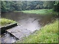 SE0327 : Reservoir, Wade Wood, Luddenden by Humphrey Bolton